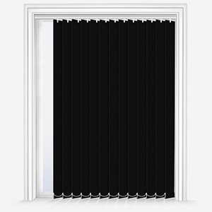 Touched by Design Deluxe Plain Jet Vertical Blind