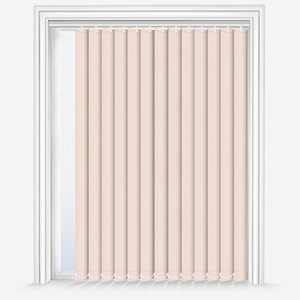 Touched by Design Deluxe Plain Lace Vertical Blind