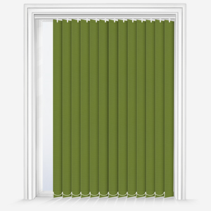 Touched by Design Deluxe Plain Lime Vertical Blind