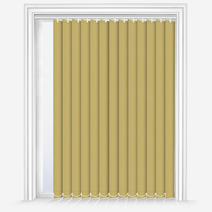Touched by Design Deluxe Plain Stem Green Vertical Blind