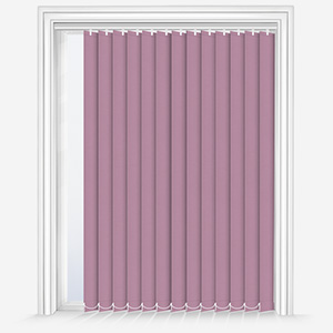 Touched by Design Deluxe Plain Wisteria Vertical Blind