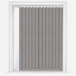 Touched By Design Optima Dimout Light Grey Vertical Blind