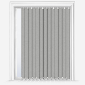 Touched By Design Optima Dimout Silver Vertical Blind