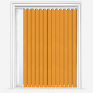 Optima Dimout Yellow Vertical Blind