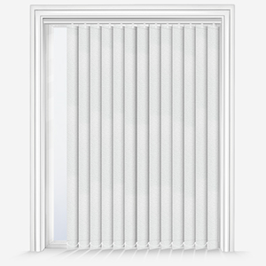 Touched by Design Somerset White Vertical Blind
