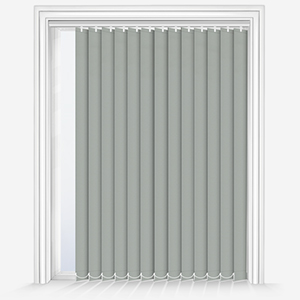 Touched by Design Supreme Blackout Dove Grey Vertical Blind