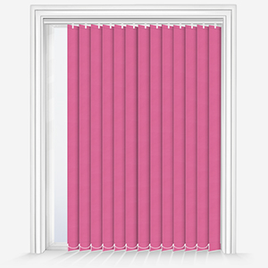 Touched by Design Supreme Blackout Hot Pink Vertical Blind