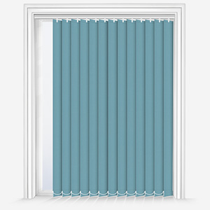 Touched by Design Supreme Blackout Ocean Green Vertical Blind