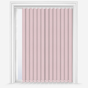Touched by Design Supreme Blackout Peony Pink Vertical Blind