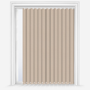 Touched by Design Supreme Blackout Sand Vertical Blind