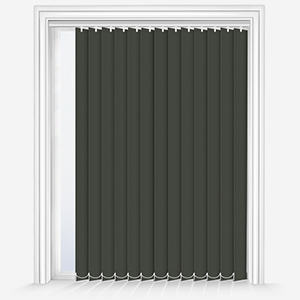 Touched by Design Supreme Blackout Shadow Grey Vertical Blind