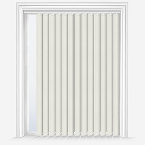 Touched by Design Supreme Blackout Vanilla Cream Vertical Blind