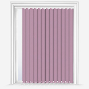 Touched by Design Supreme Blackout Wisteria Vertical Blind