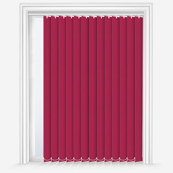 Touched by Design Deluxe Plain Deep Pink vertical