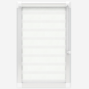 Touched by Design Classic Pearl White Perfect Fit Day and Night Blind