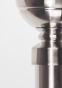 silver and stainless steel curtain poles
